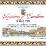 Diploma Gearl Spicer