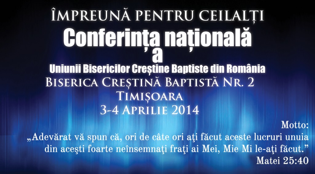 Conferinta nationala - banner