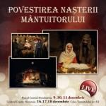 Povestea Naşterii Mântuitorului a fost reprodusă la Dumbrăviţa
