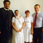 Primul botez la Maguri