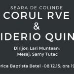 Seară de colinde la Biserica Baptistă Betel Timișoara: Marți 8 Decembrie la ora 19.00