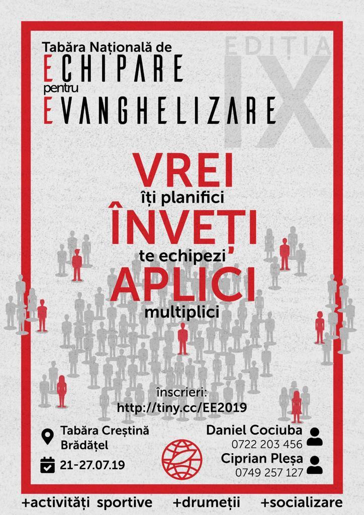Echipare pentru Evanghelizare la Brădățel