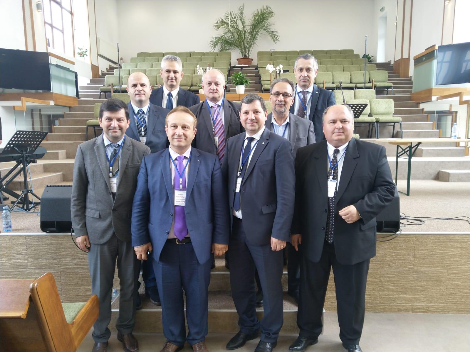 Noul comitet de conducere a Comunității Bisericilor Creștine Baptiste Timișoara