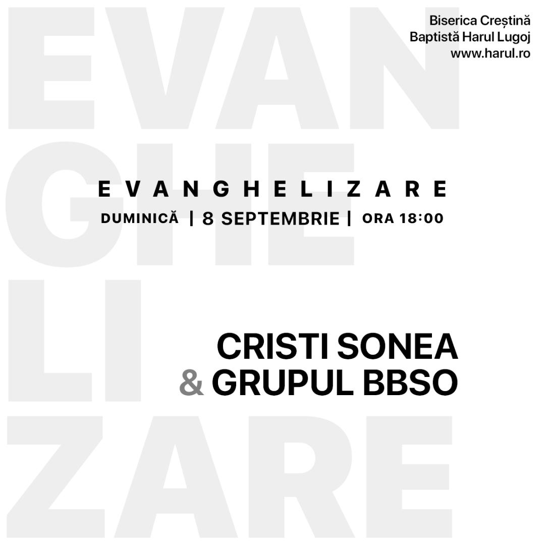 Cristi Sonea si grupul BBSO la Lugoj