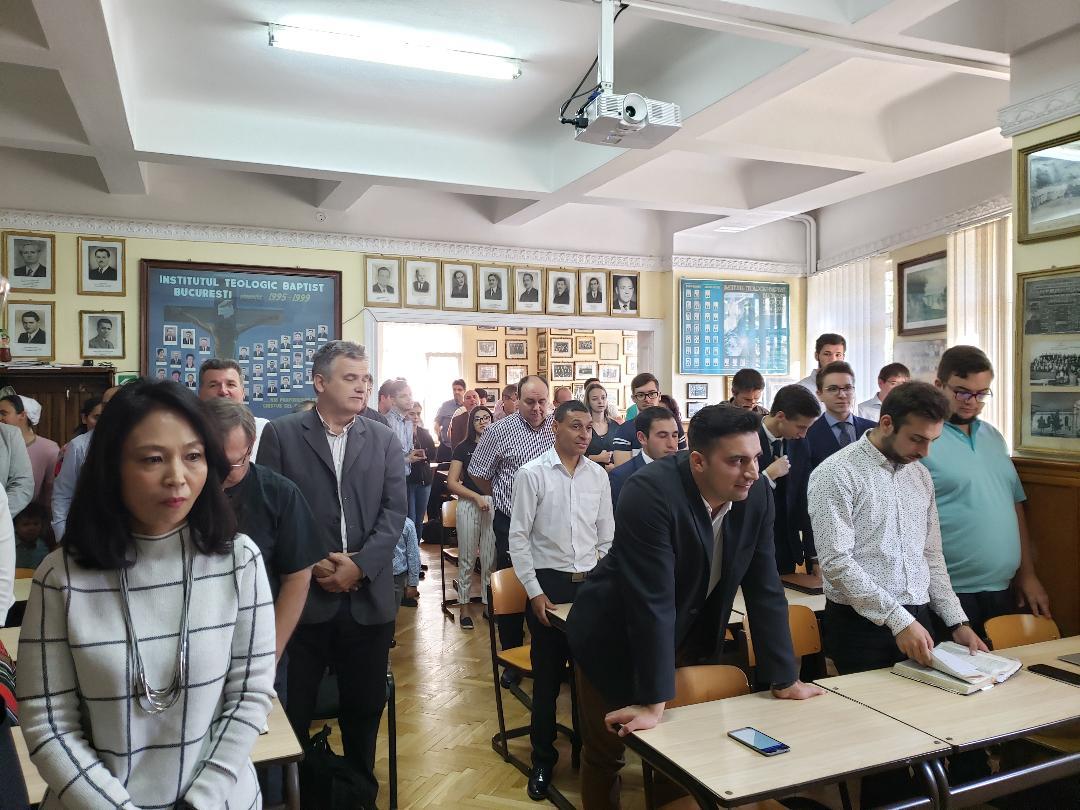 Deschiderea anului universitar la Institutul Teologic Baptist din Bucureşti