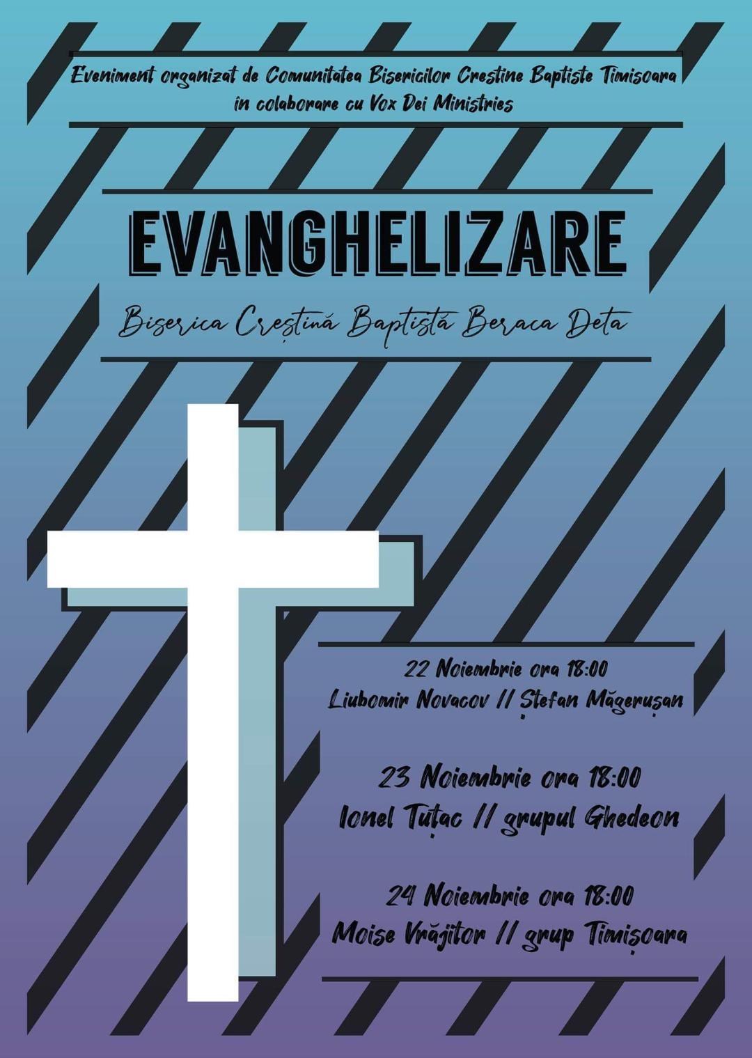 Evanghelizare la Deta