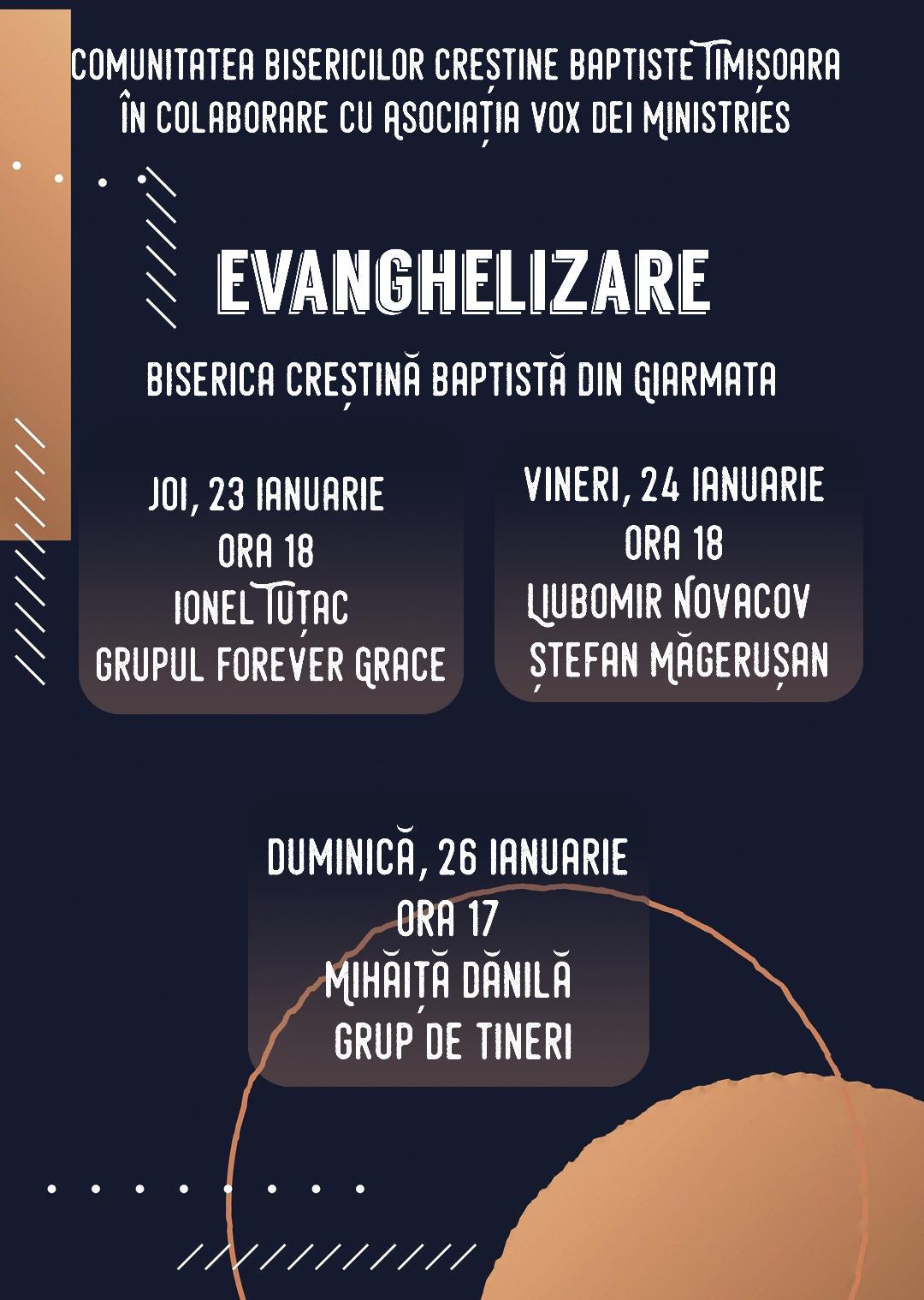 Evanghelizare la Giarmata