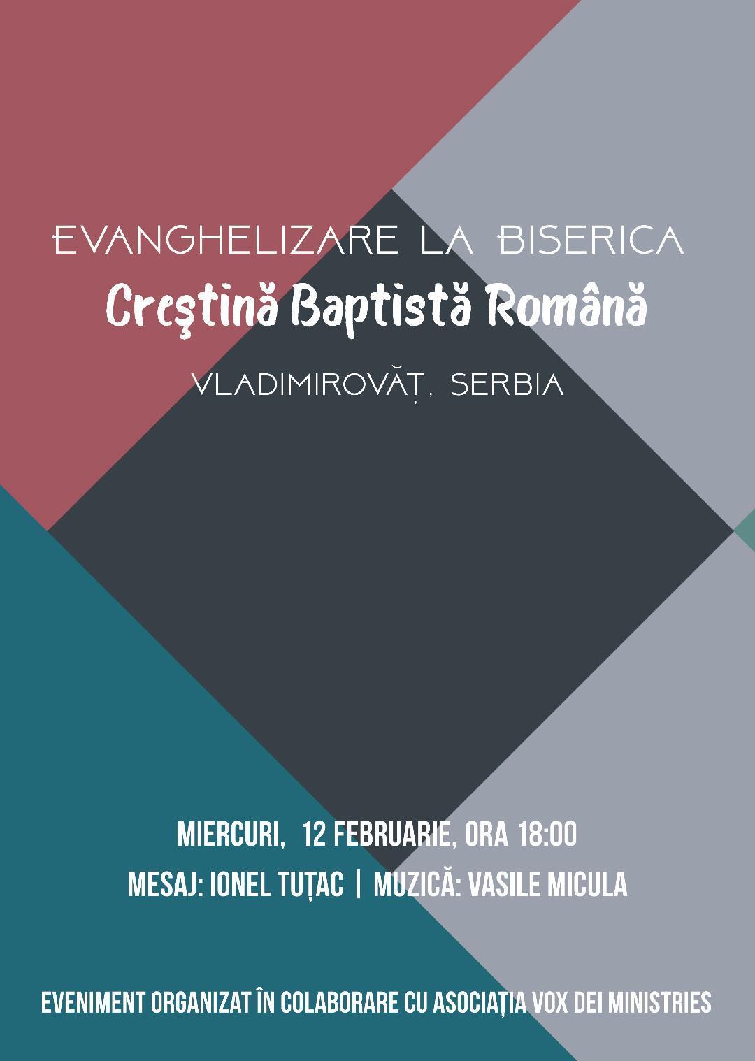 Evanghelizare la Vladimirovăț