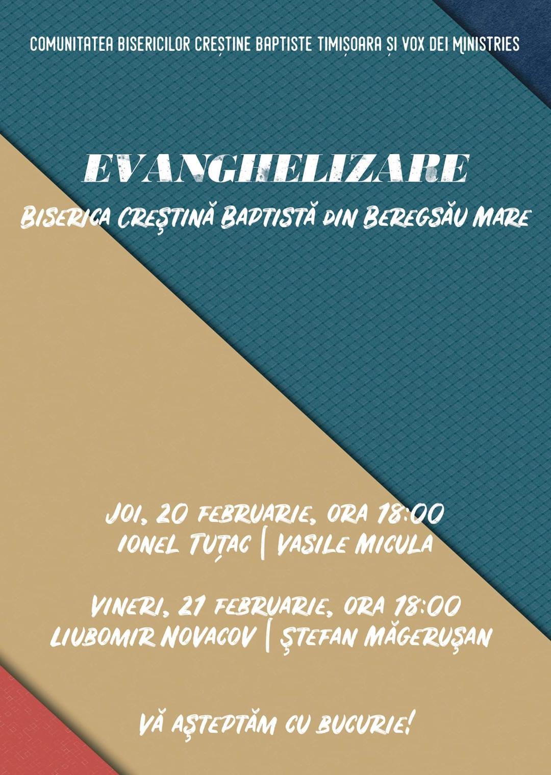 Evanghelizare la Beregsău Mare