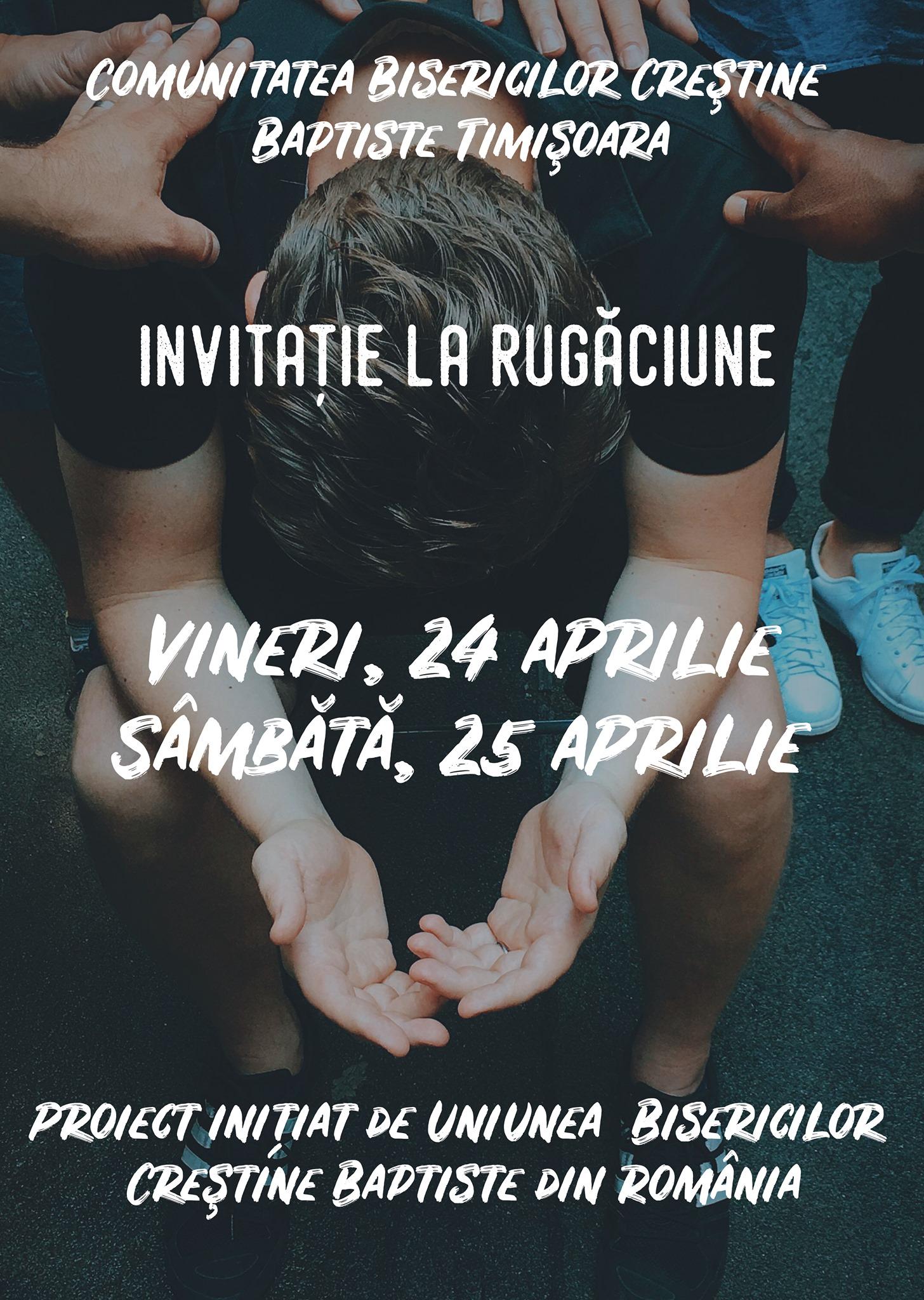 Invitație la rugăciune