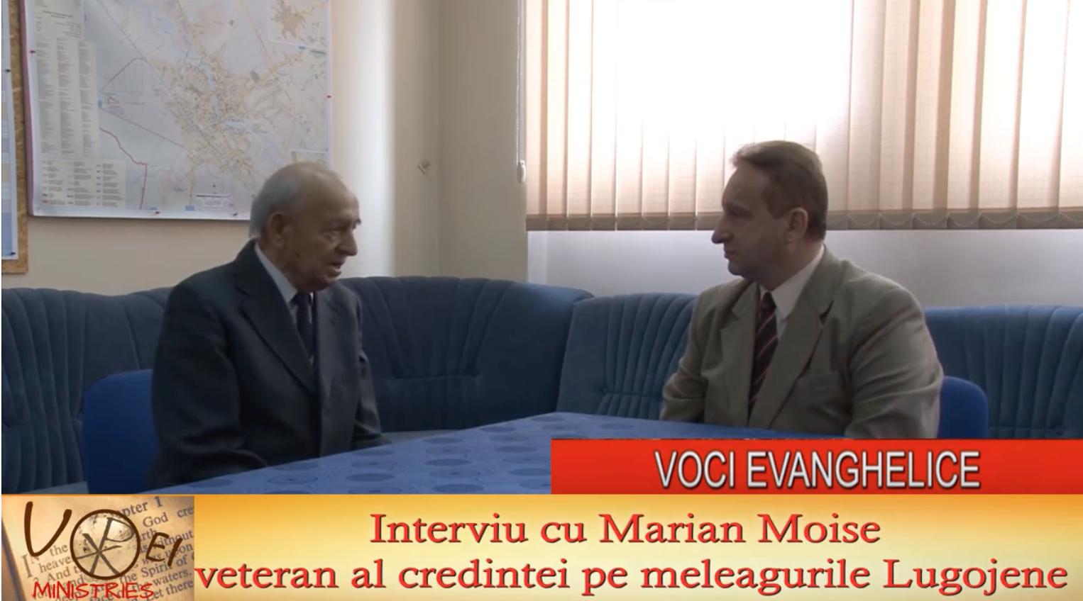 Interviu — Marian Moise și Dr. Ionel Tutac