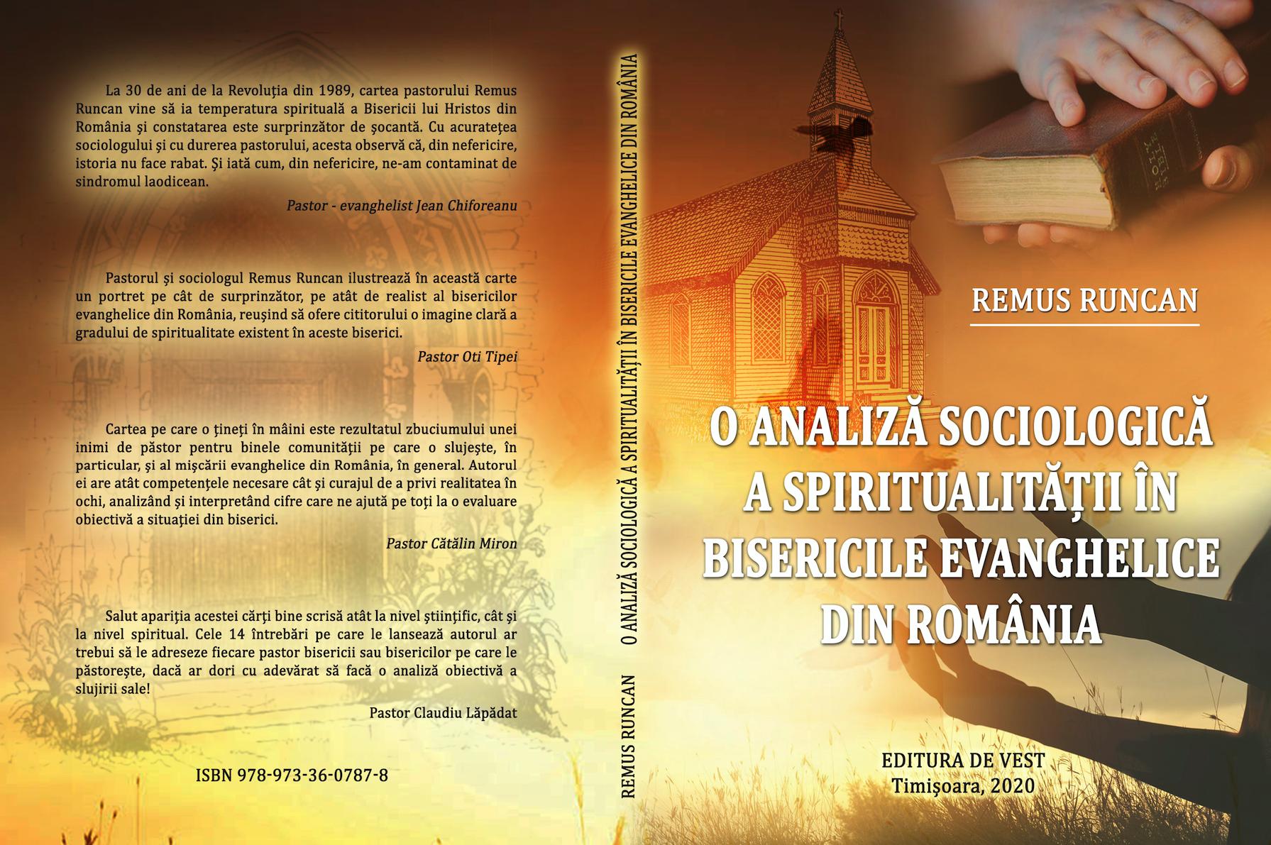 Apariție editorială: O analiză sociologică a spiritualității în bisericile evanghelice din România