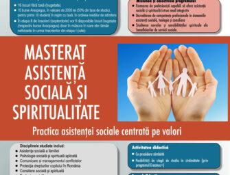 Masterat Asistență Socială și Spiritualitate